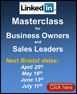 LinkedIn Masterclass Training Course Bristol April 2014