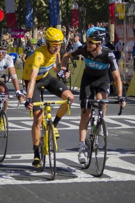 Tour de France 2012 arrives in Paris