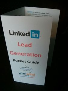 LinkedIn Lead Generation Pocket Guide Image Wurlwind