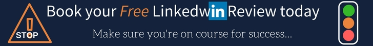 Book a call Linkedwin LinkedIn Review Masthead Image