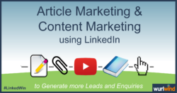 LinkedIn Lead Generation Article Marketing Image Mark Stonham Wurlwind
