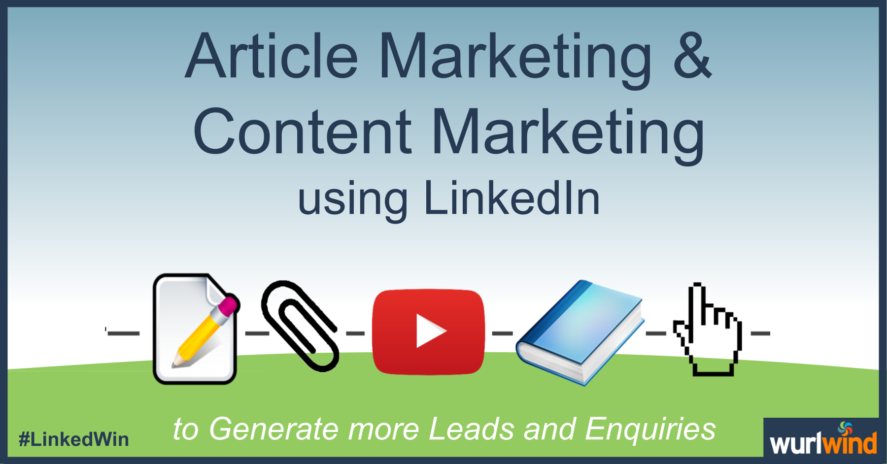 LinkedIn Lead Generation Article Marketing Image Mark Stonham Wurlwind