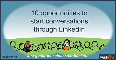 Start Sales Conversations – 10 opportunities to engage