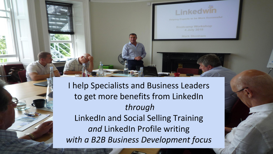 LinkedIn Social Selling Website Banner Mark Stonham