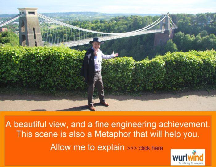 Rainmaker Clifton Bridge Metaphor Vital Pivot for Success with Mark Stonham