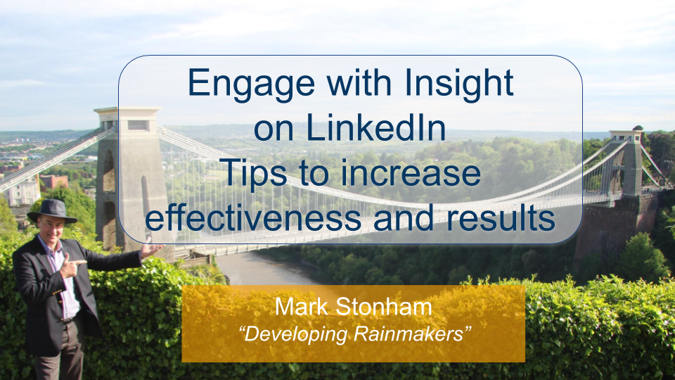 How to Engage with Insight on LinkedIn